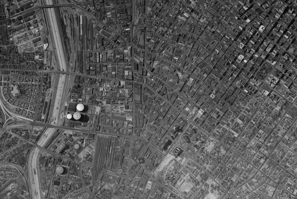 historic aerial phototography