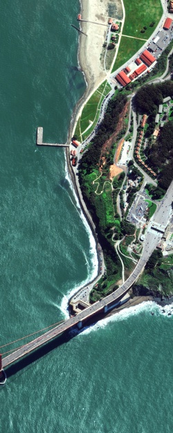 satellite and aerial imagery