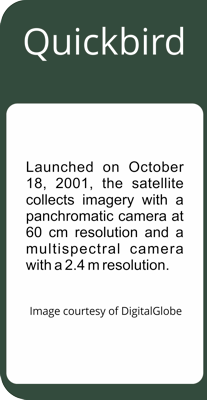 DigitalGlobe Quickbird Satellite Imagery