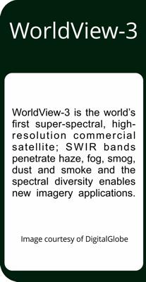 DigitalGlobe Worldview-3 Satellite Imagery